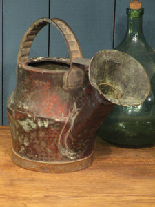18th century French copper watering can