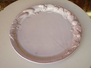Medium flat platter – autumn harvest