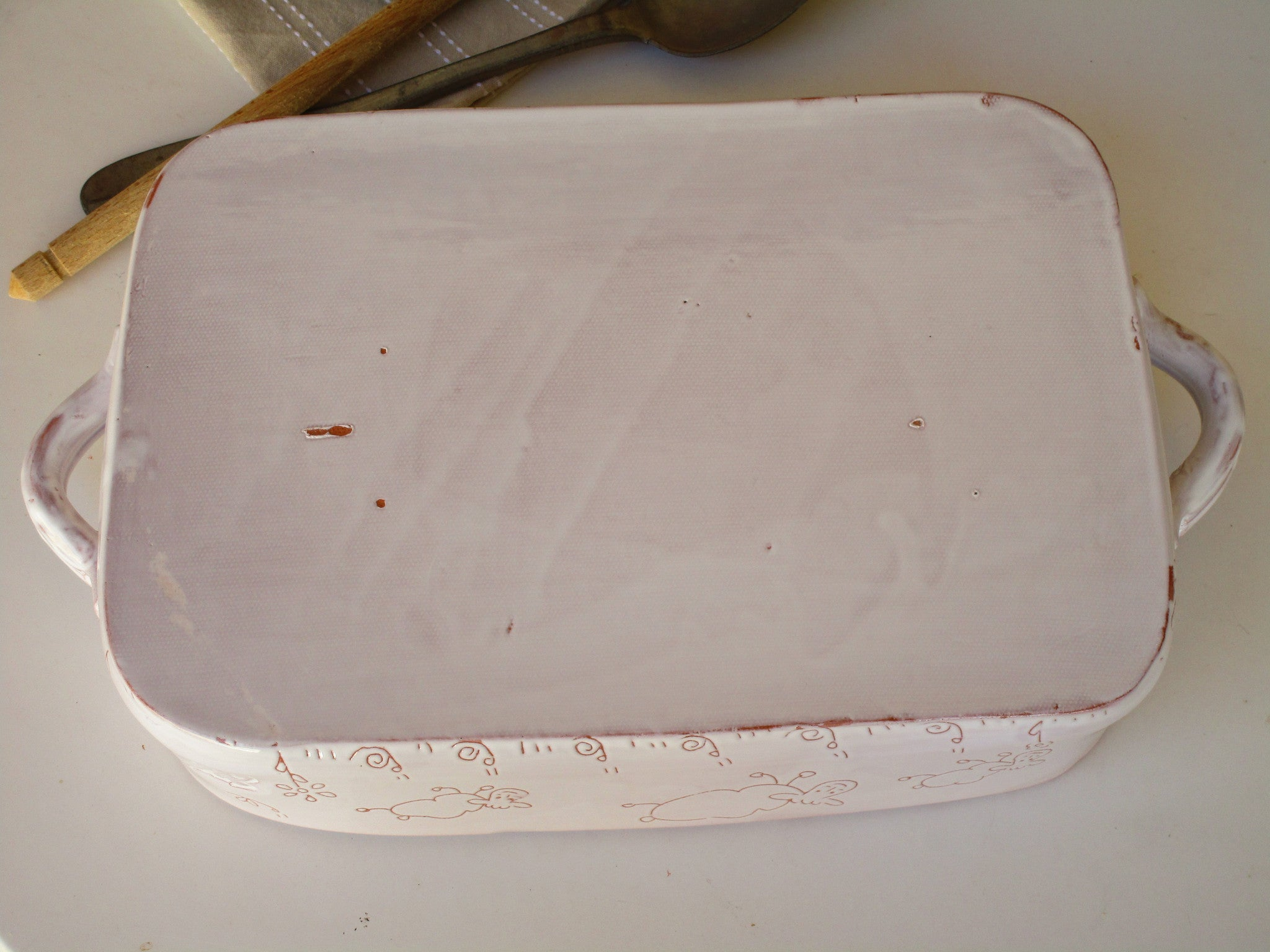 Rectangular baking dish – the French countryside