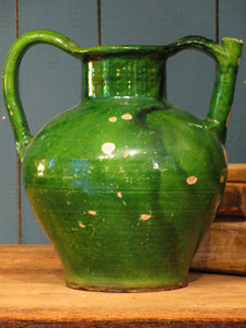 Green jug from Languedoc Roussillon