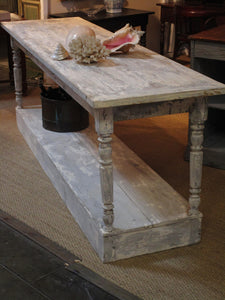 Large 19th century French draper's table
