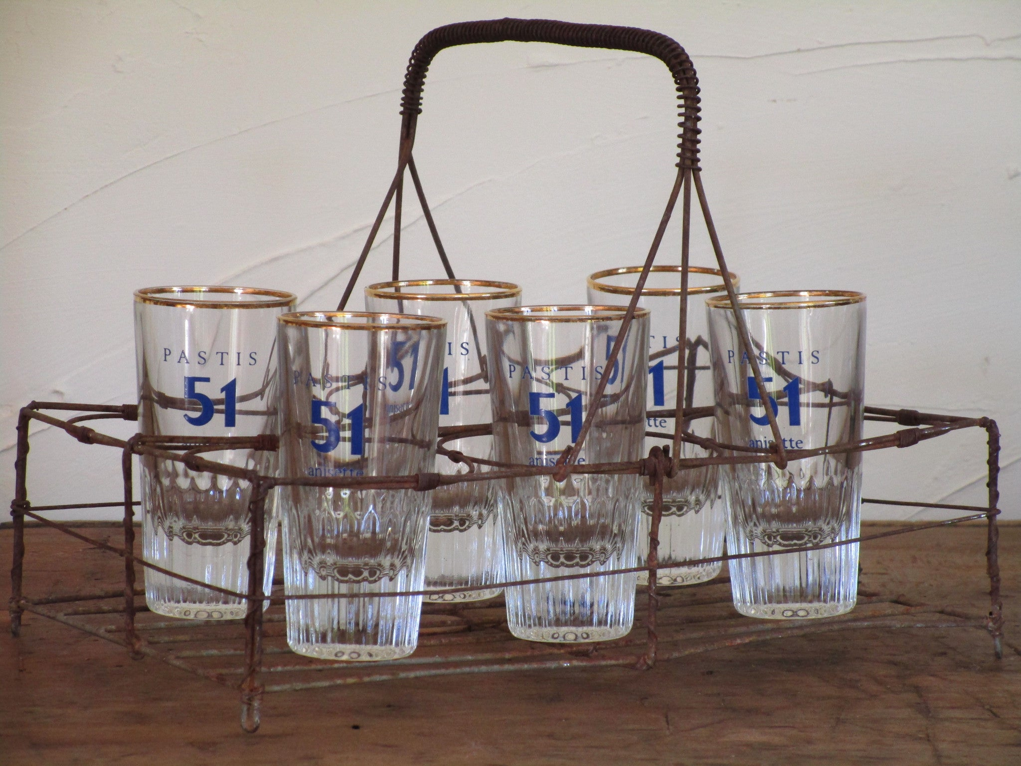 Pastis glasses – set of six