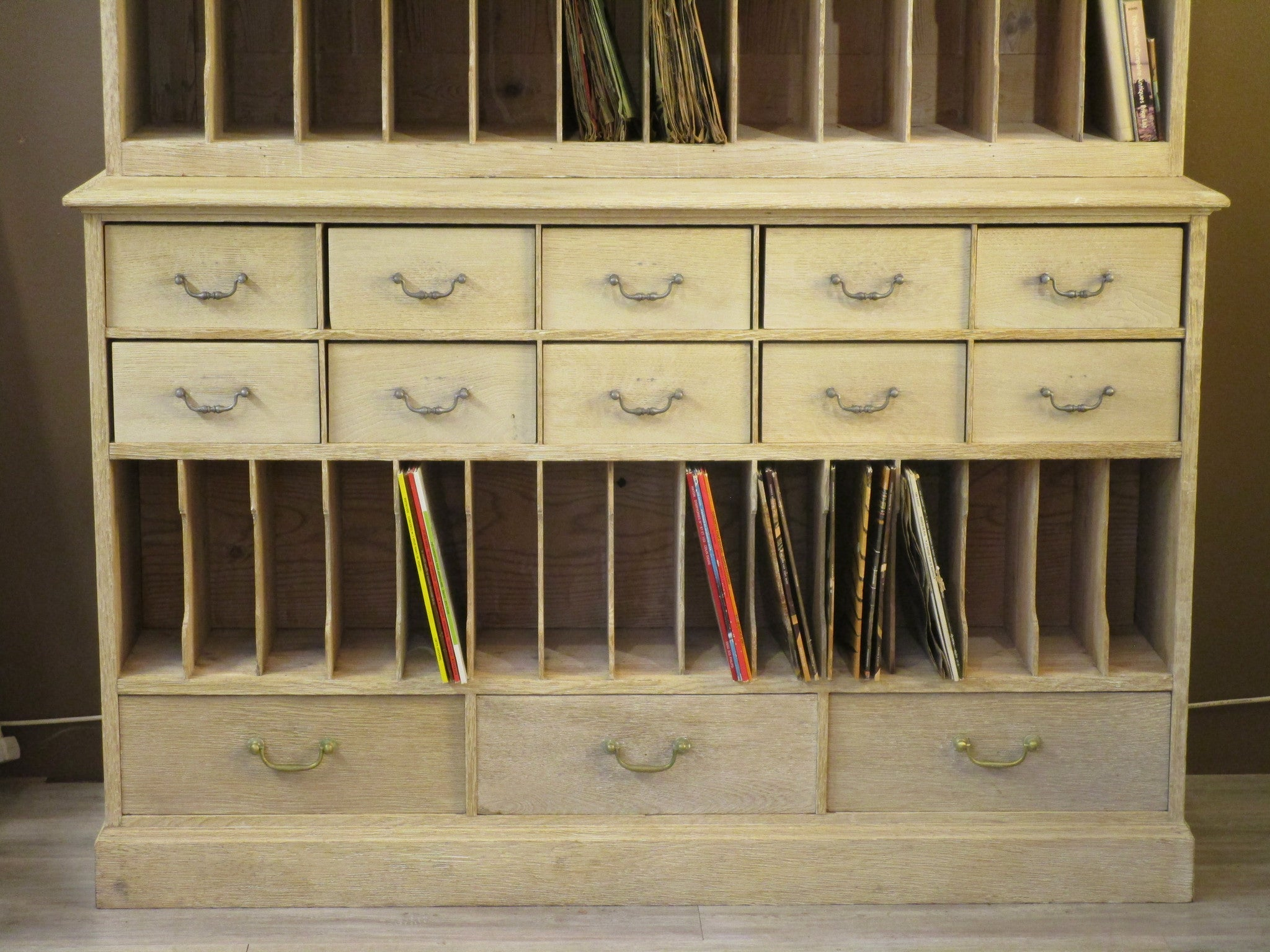Late 18th century archive cabinet from Roanne