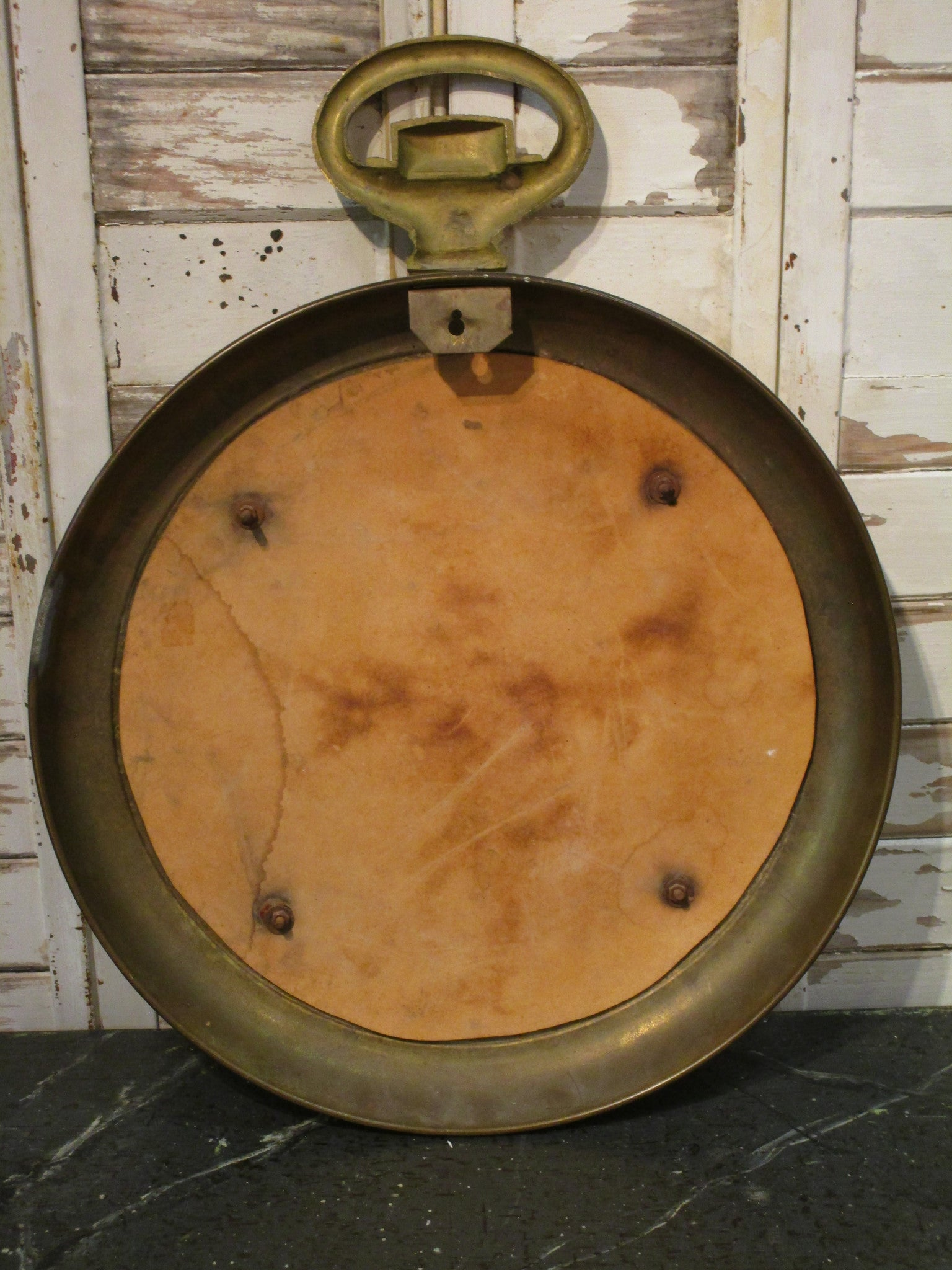 Round horlogerie mirror from a French watchmaker
