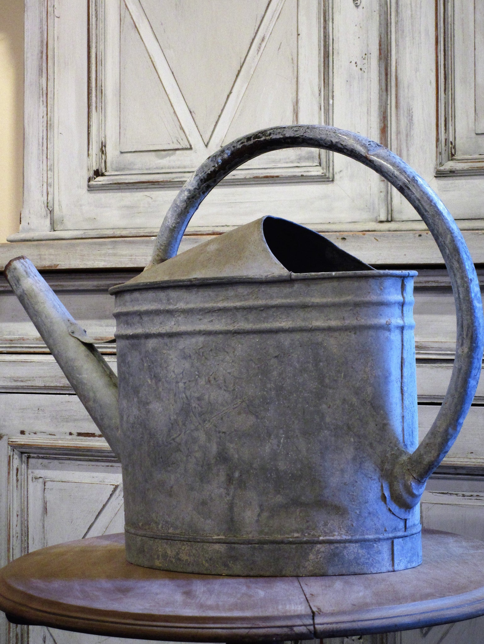 Vintage French watering can