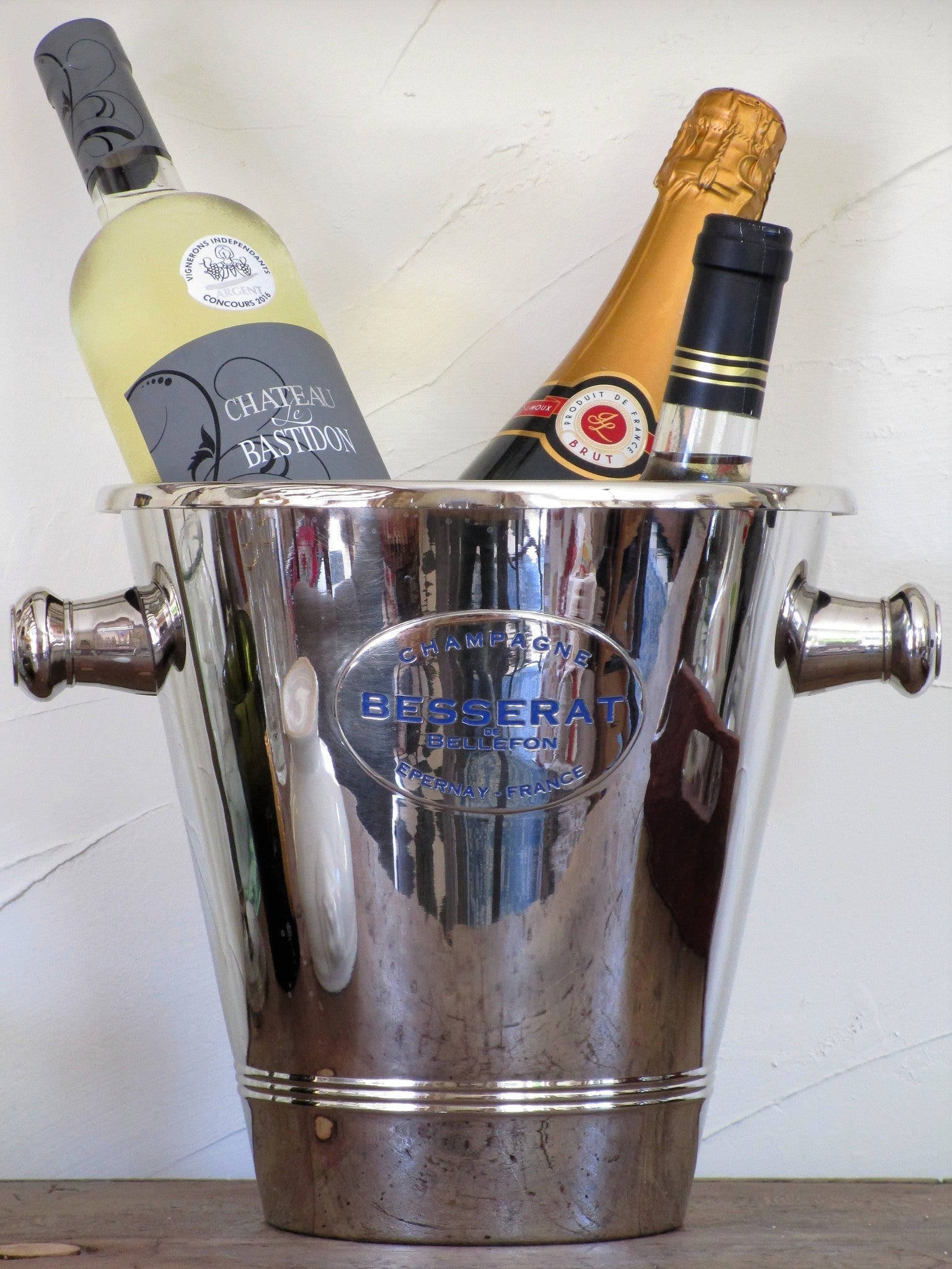 Besserat de Bellefon Champagne bucket - 3 bottle capacity