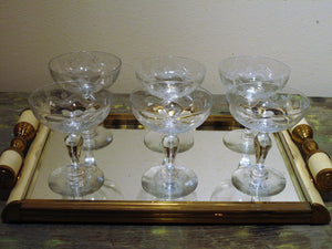 Art Deco drinks tray