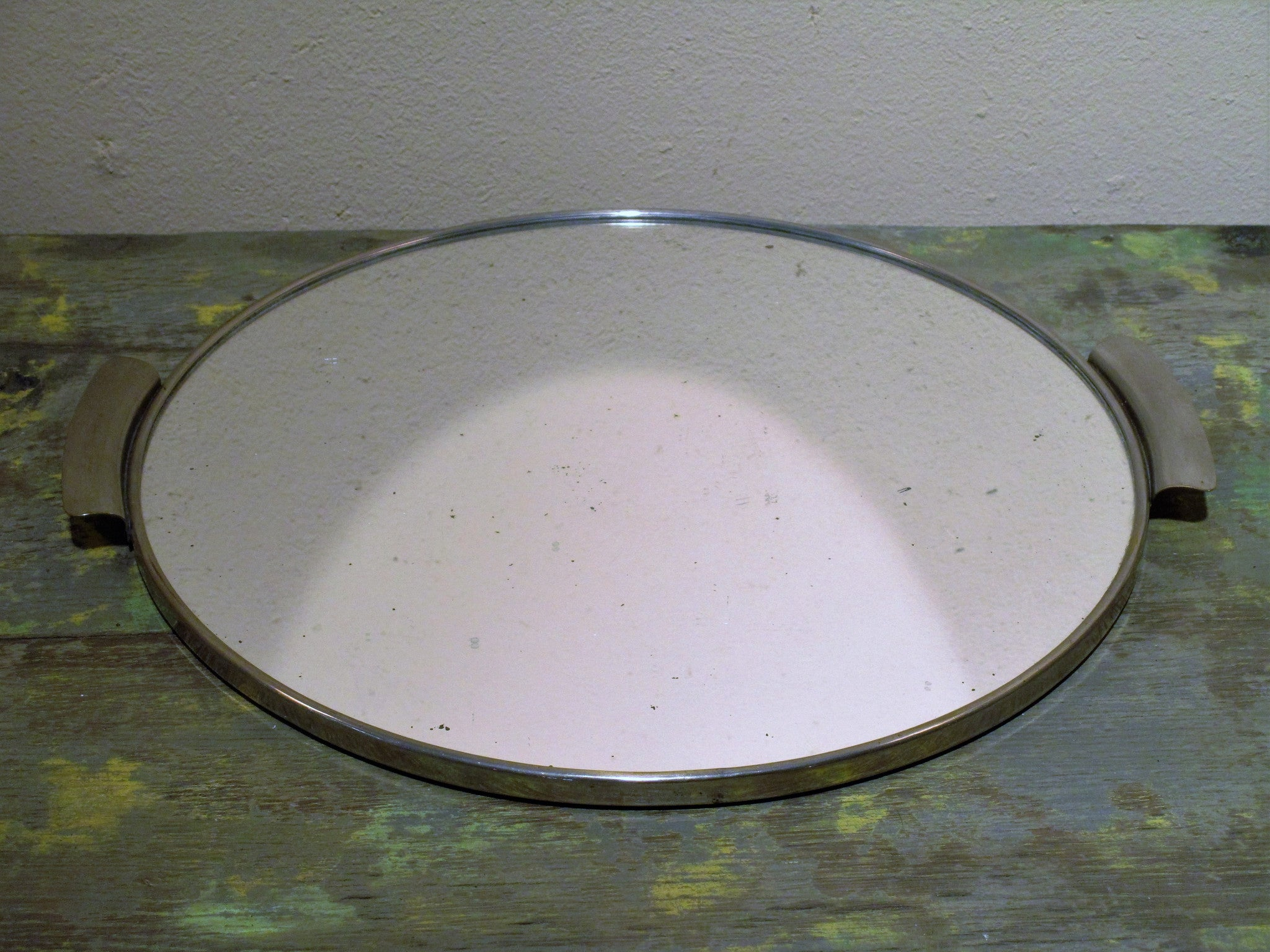 French vintage drinks tray