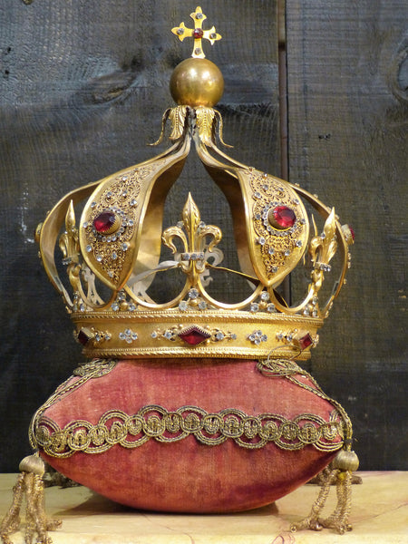 19th century saint's crown