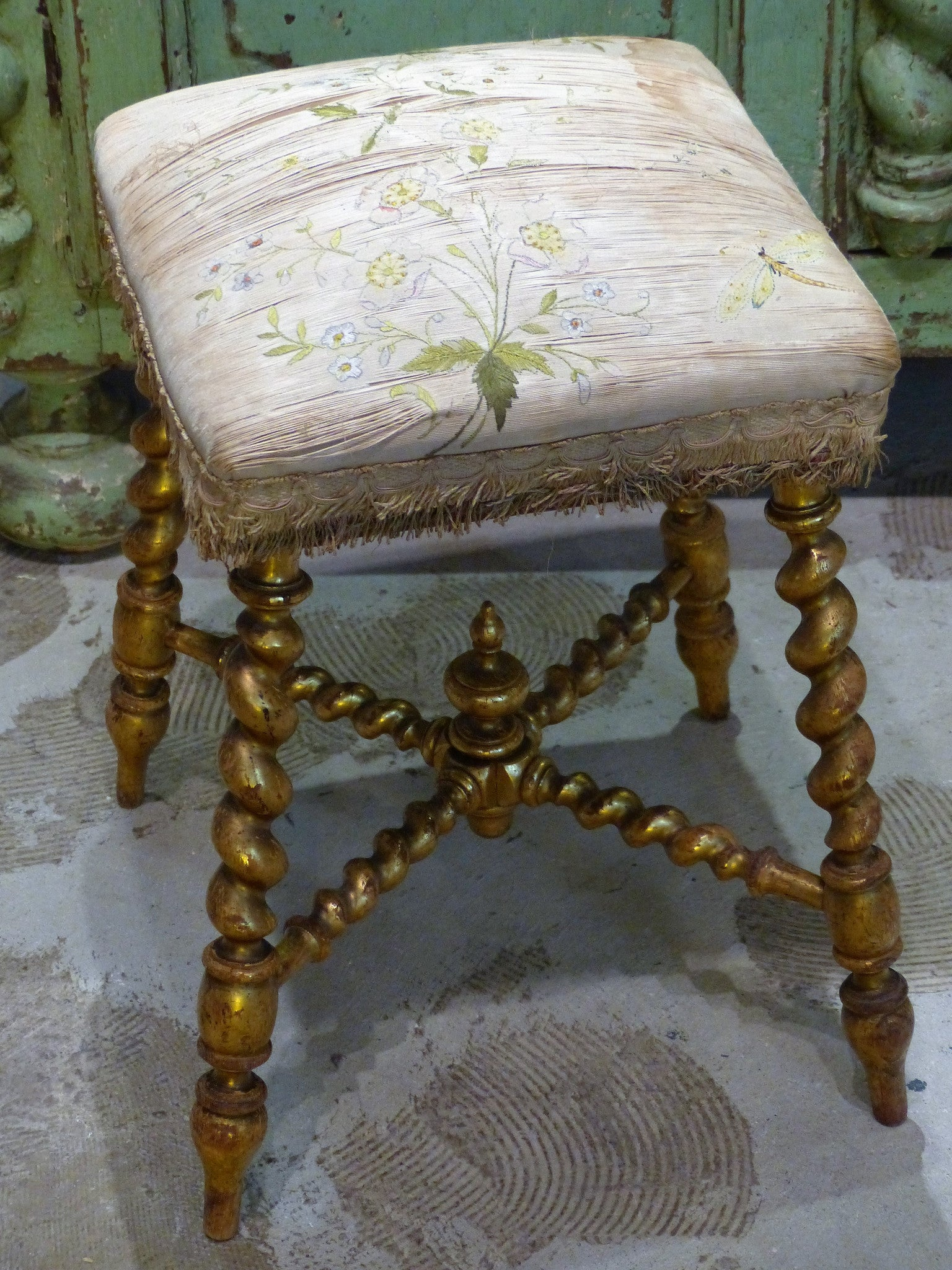 "19th century French ""tabouret"""