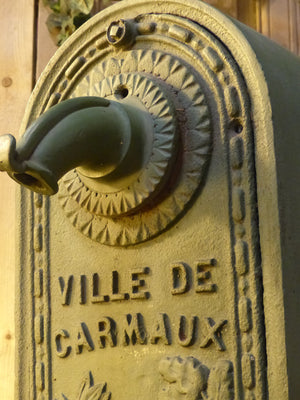 Early 20th century water fountain from Ville de Carmaux
