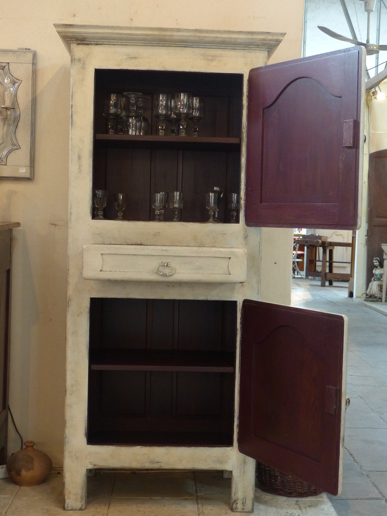 French storage cabinet