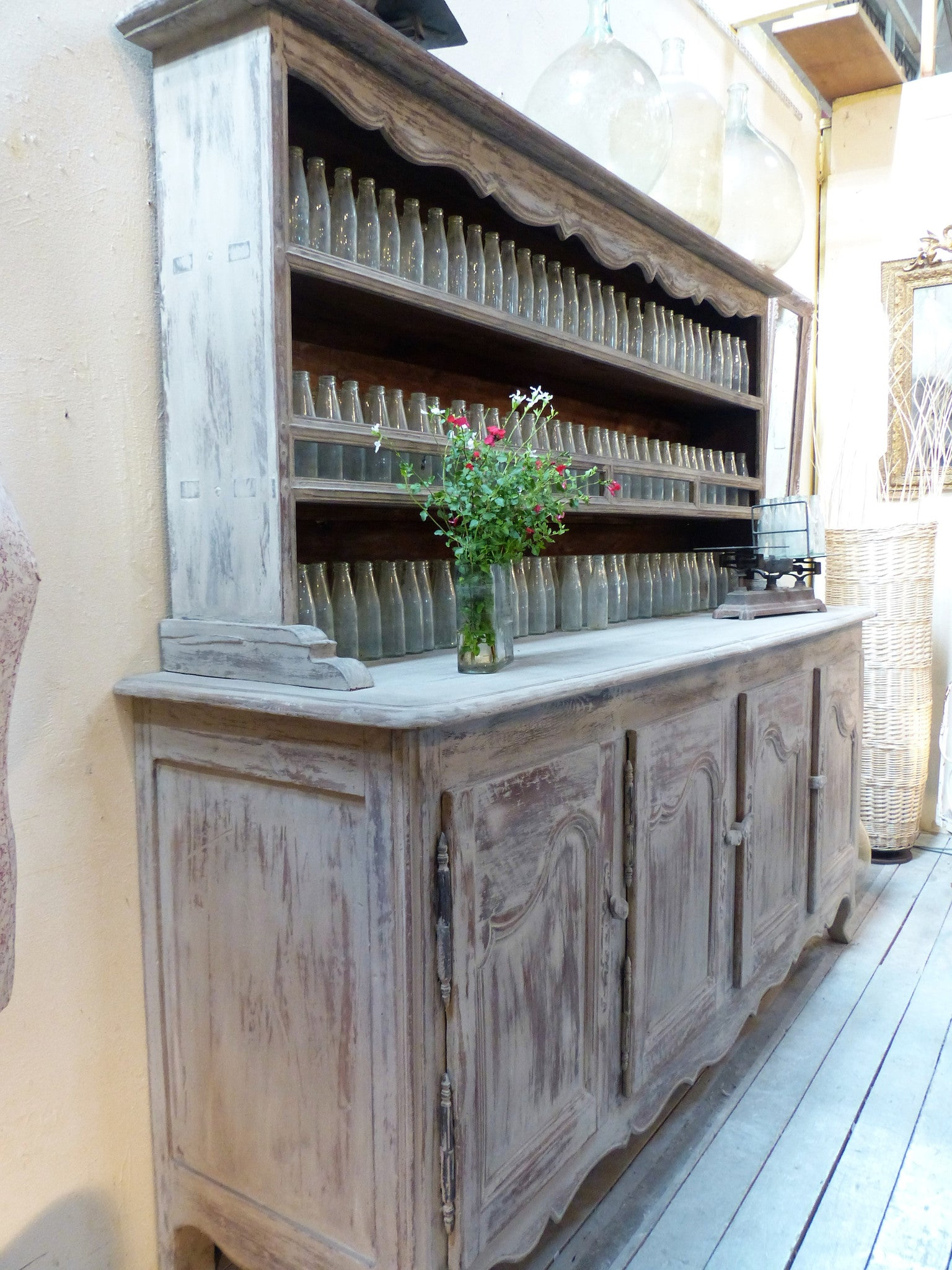 Large French kitchen dresser farmhouse décor