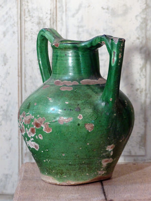 Vintage French pottery water pitcher last minute christmas gift idea fast delivery