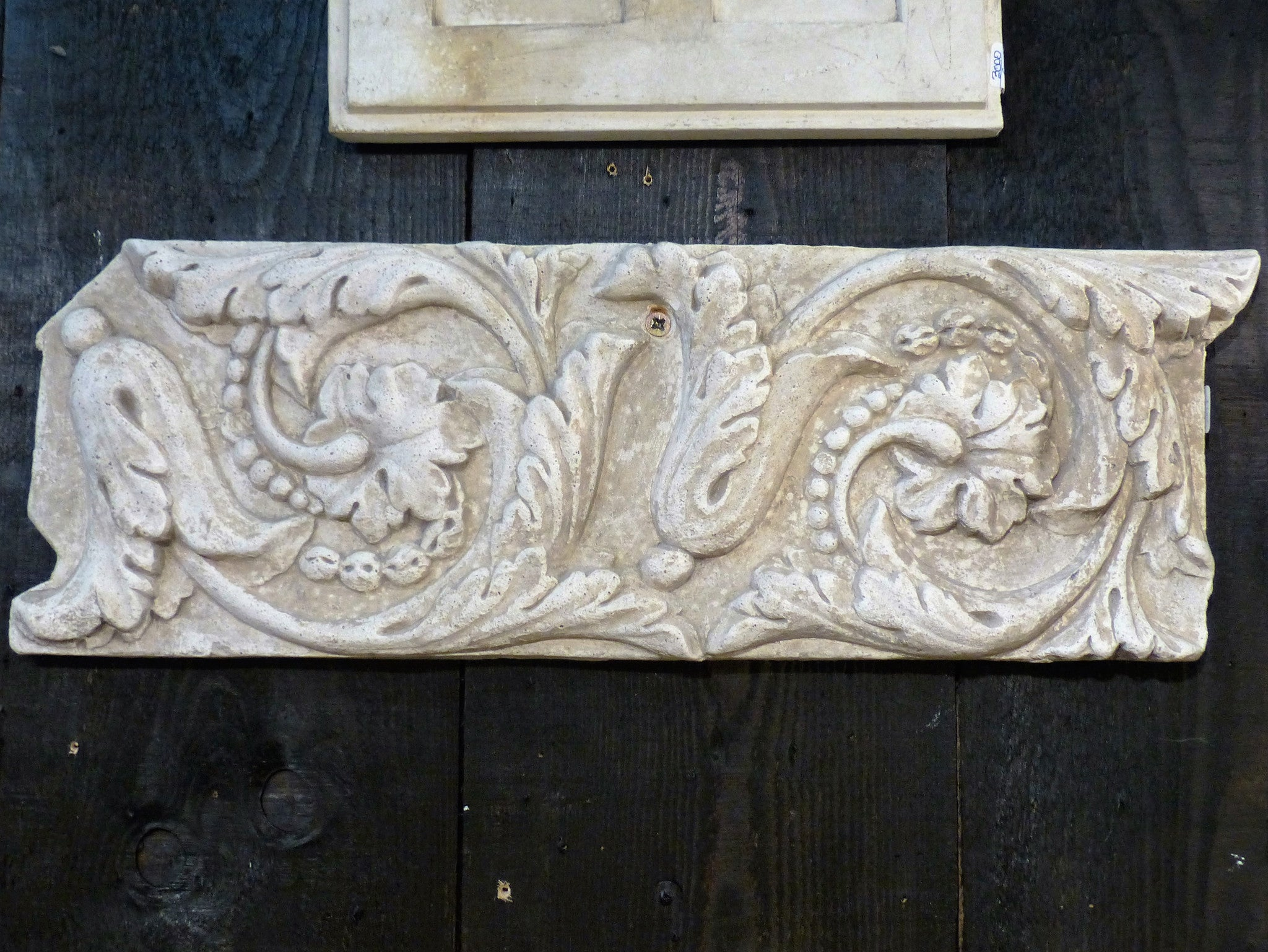 Plaster moulding from French architecture school collectible Patina Farm style