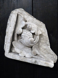 Plaster moulding from French architecture school collectible