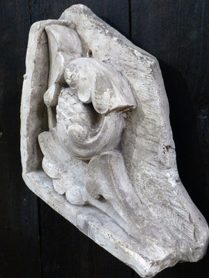 Plaster moulding from French architecture school collectible Patina Farm aesthetic