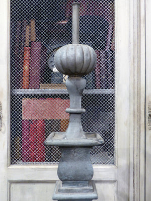 19th century French finial zinc