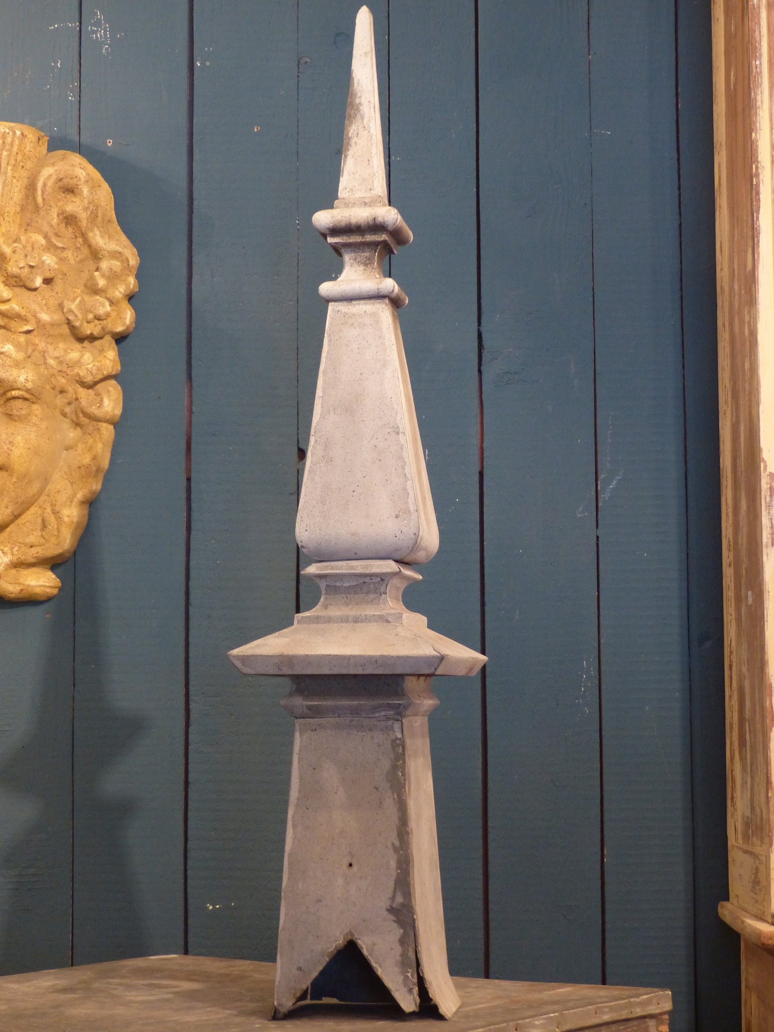 19th century French finial