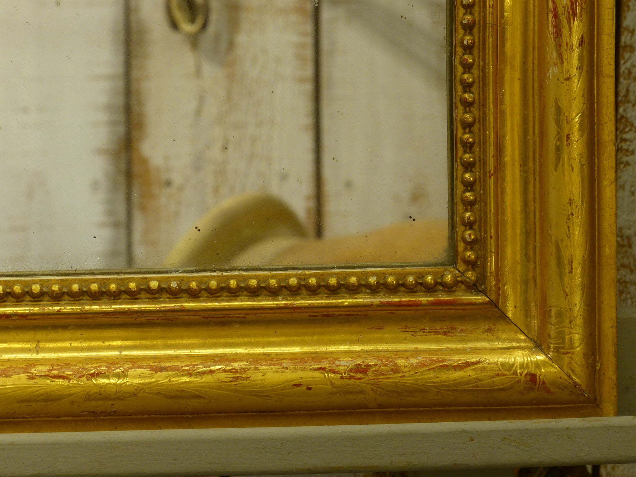 Small Louis Philippe mirror - mid-19th century