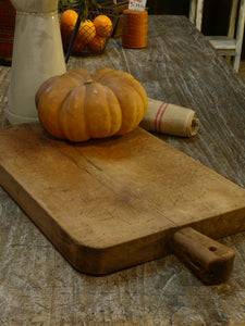 Extra-large rustic French cutting board - 1920's