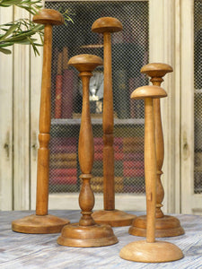 Set of five French hat stands - 1900's