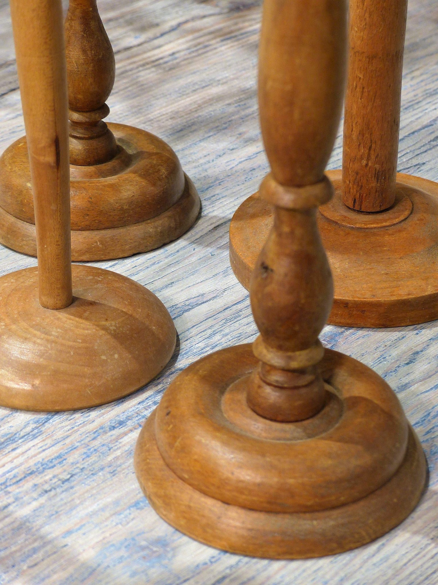 Set of five French hat stands – 1900's