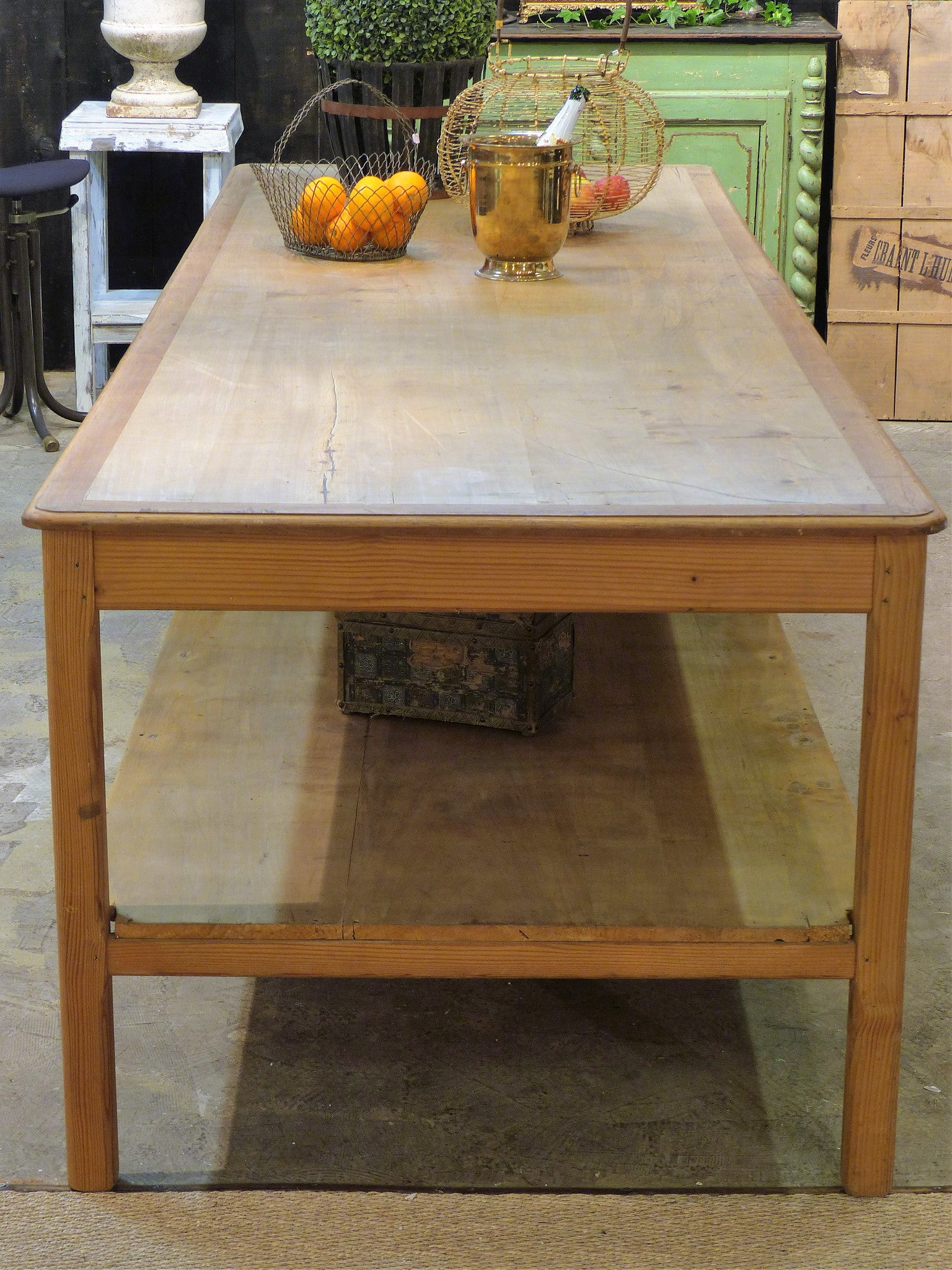 Large French draper's table –  circa 1900's