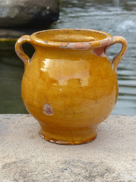19th Century Orange Confit Pot - 14cm