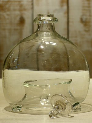French hand blown glass container to trap wasps – 19th century