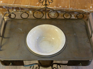 19th century wash stand from a French boarding school