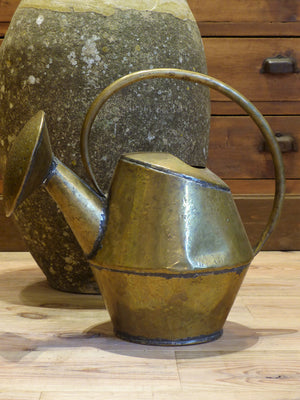 Rustic French watering can