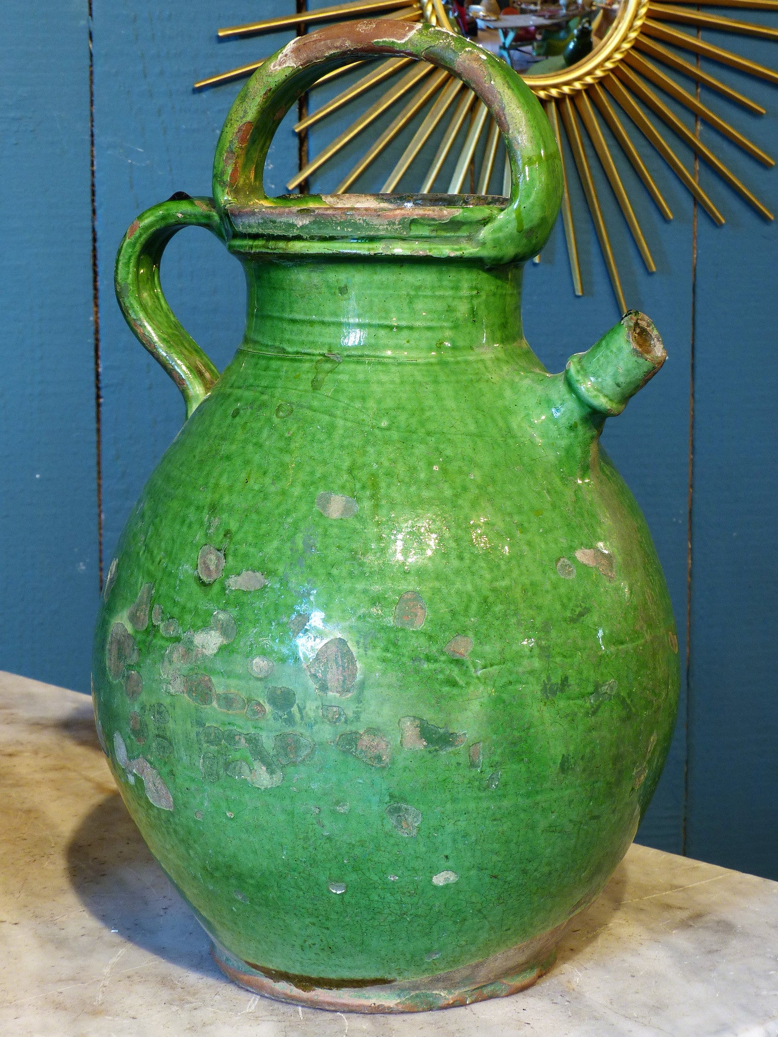 Large French Provincial water jug