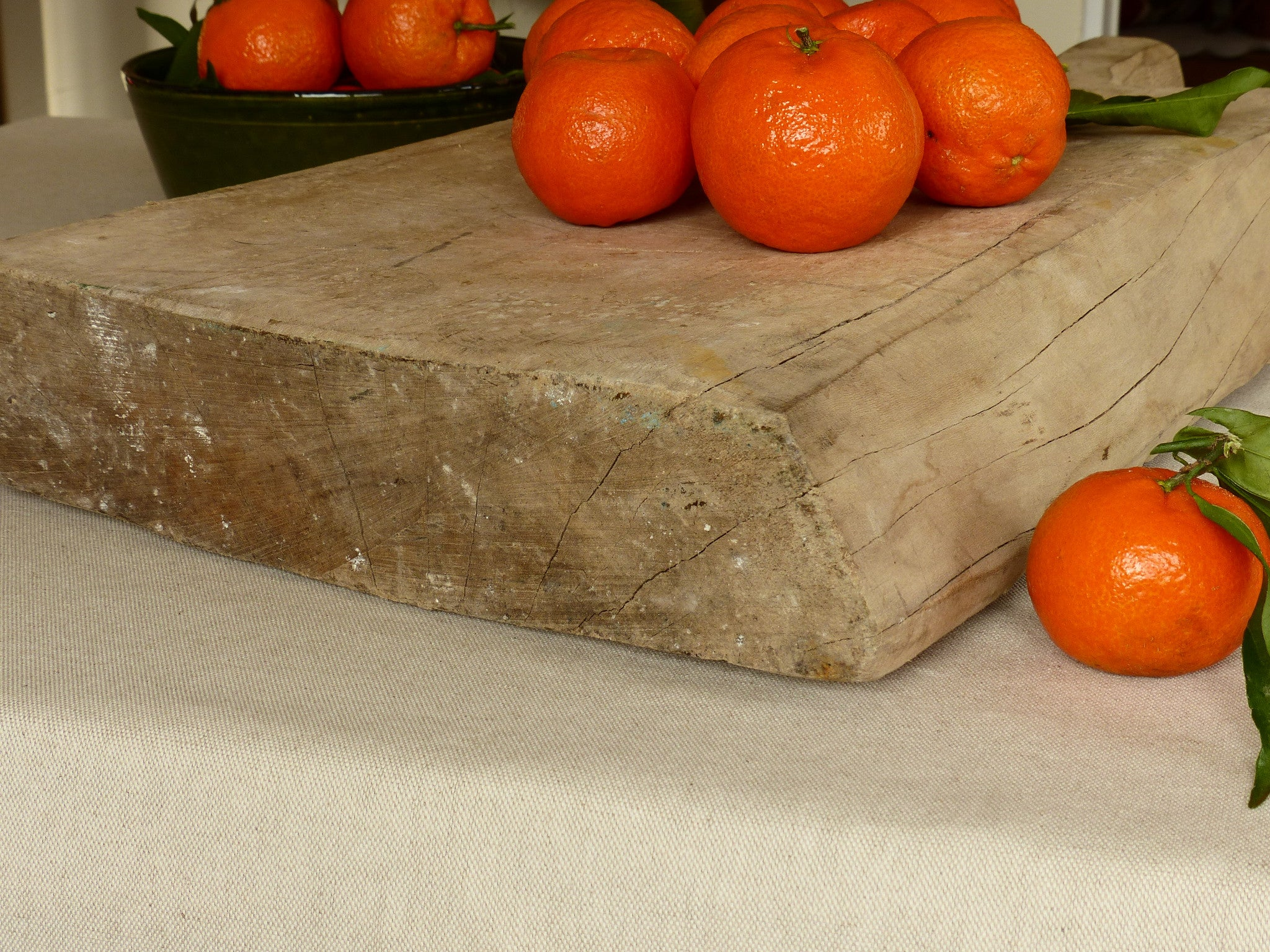 Very large chunky butcher's cutting board