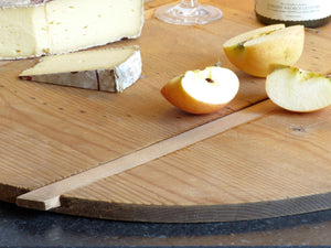 Round French cheese board - circa 1940's - 26½""
