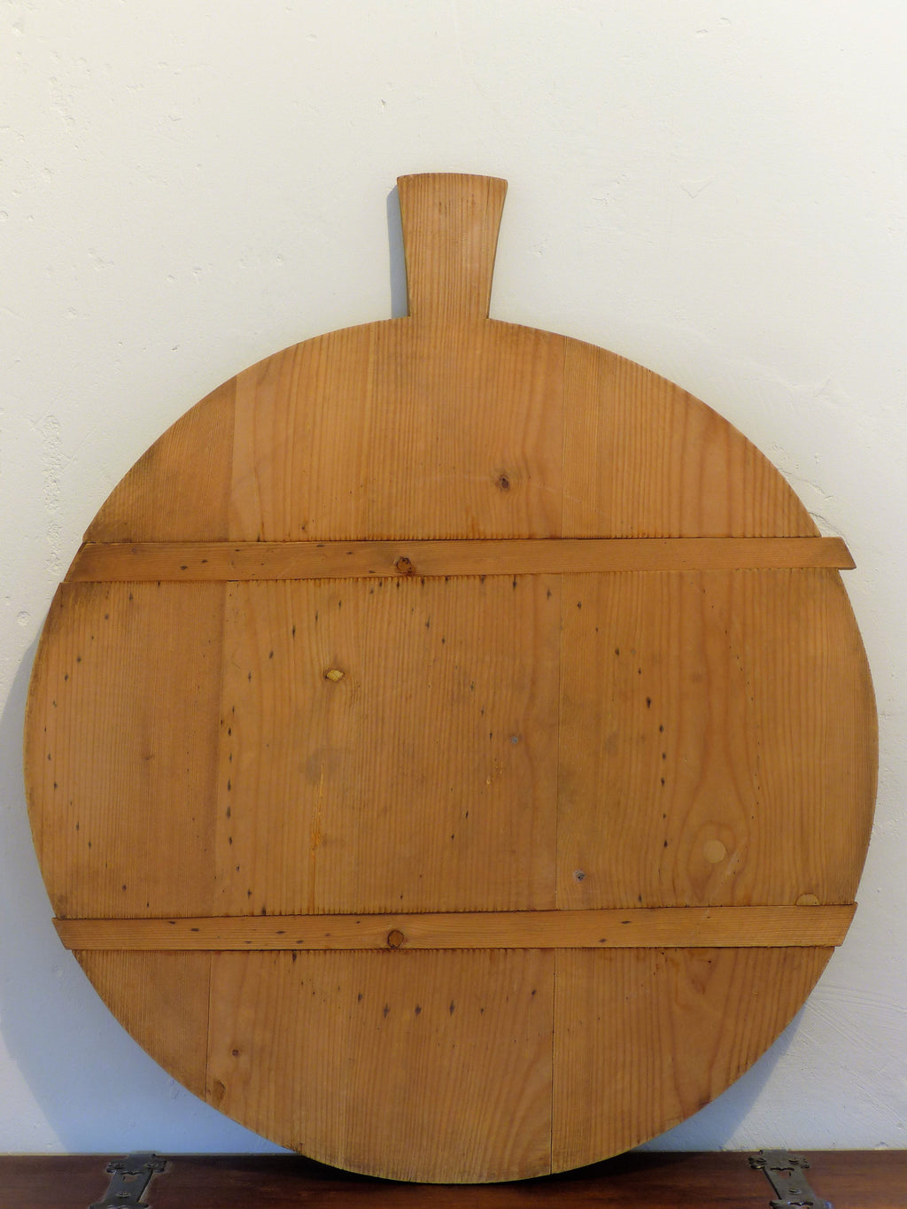 Round French cheese board - circa 1940's