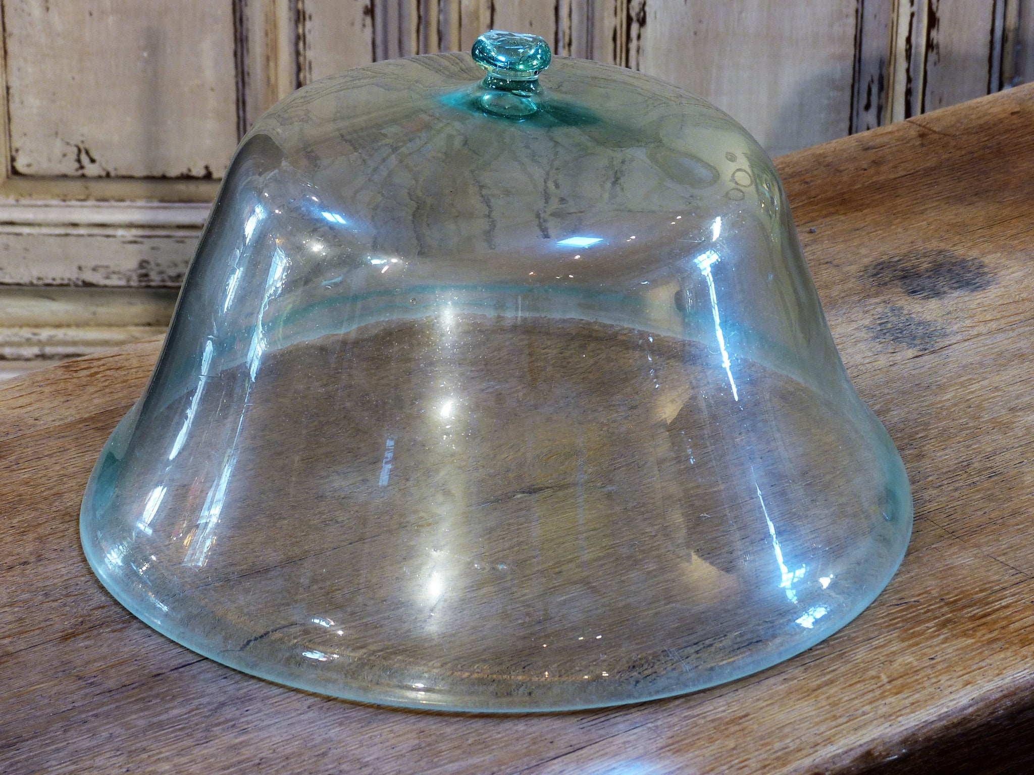 19th century glass garden cloche