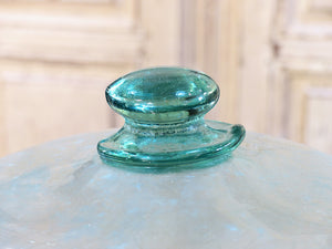 19th century glass garden cloche – bell shaped