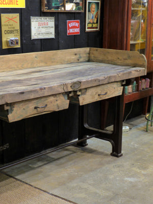 Late 18th century / early 19th century workshop table