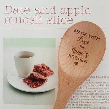 """Made with love"" Wooden spoons"