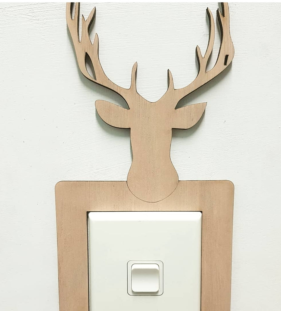 Light Switch Surround - Stag