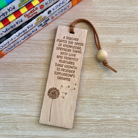 Teacher Bookmark - Seeds