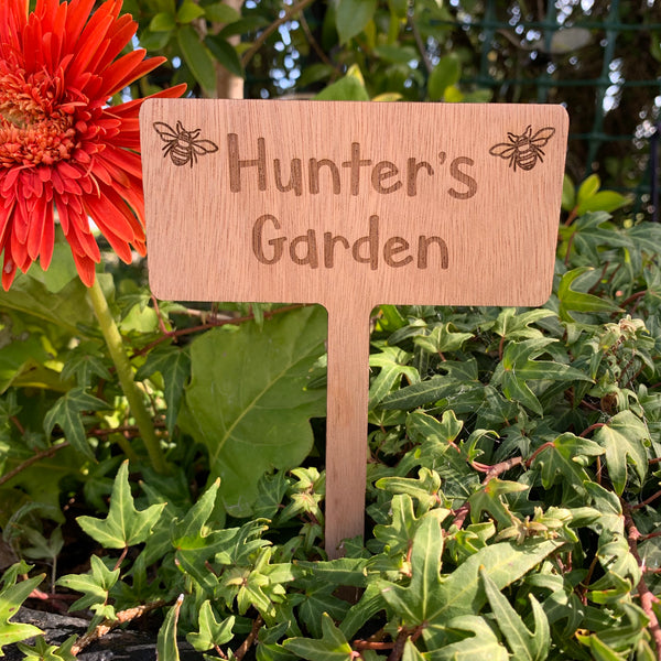 Personalised Garden Markers
