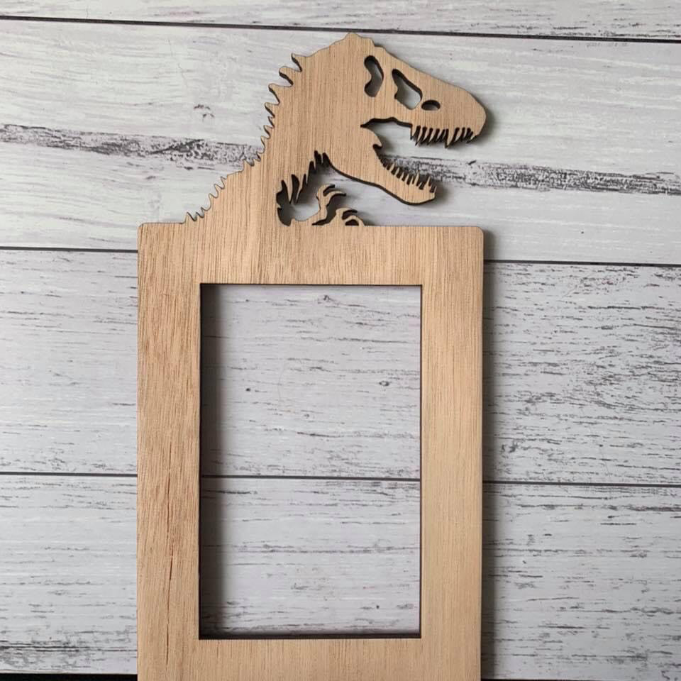 Light Switch Surround - Dinosaur