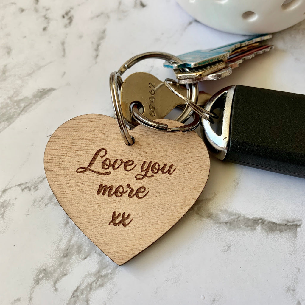Keyring - Love you more