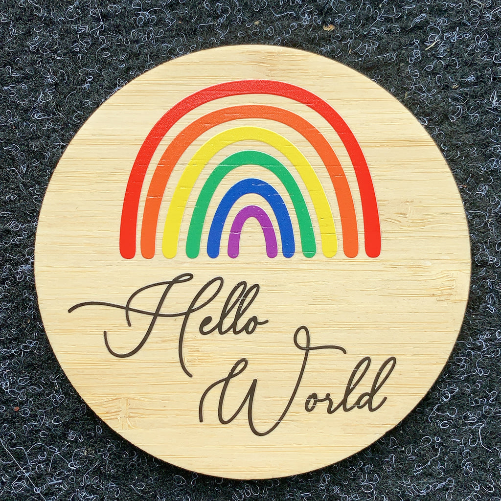 Hello world- Rainbow