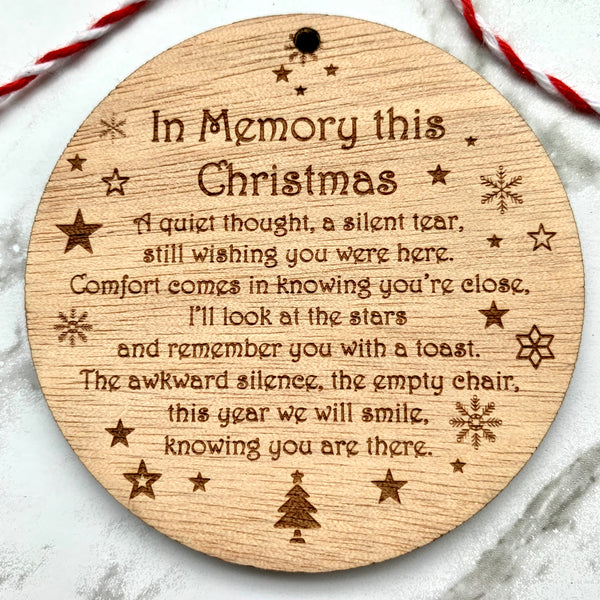 In memory bauble