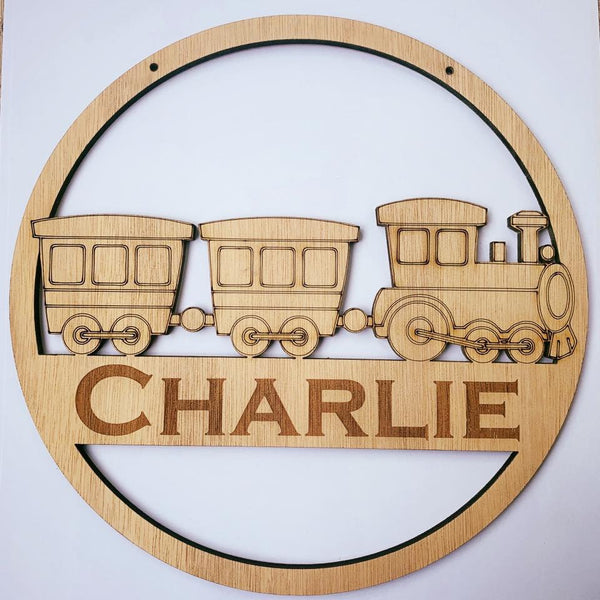 30cm Personalised wall hanging