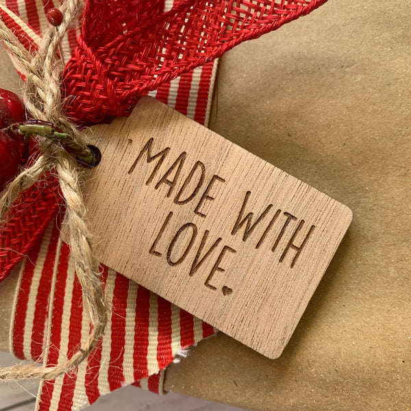 Gift Tag - Made with love