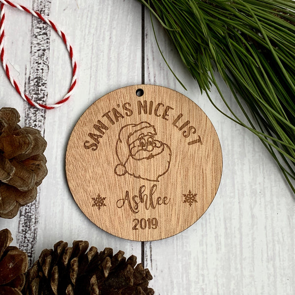Santa's Nice List Bauble